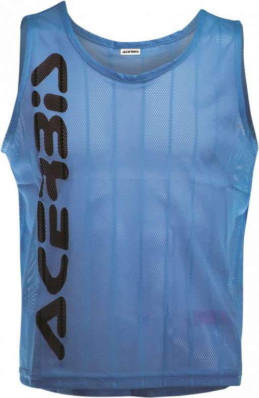 TRAINING BIB TEAM PRO (5PZ) BLU FLUO