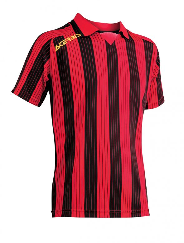 JERSEY VERTICAL SS - RED/BLACK