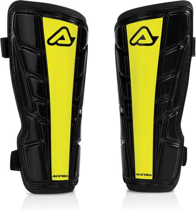 EVO SHINGUARDS  BLACK/YELLOW