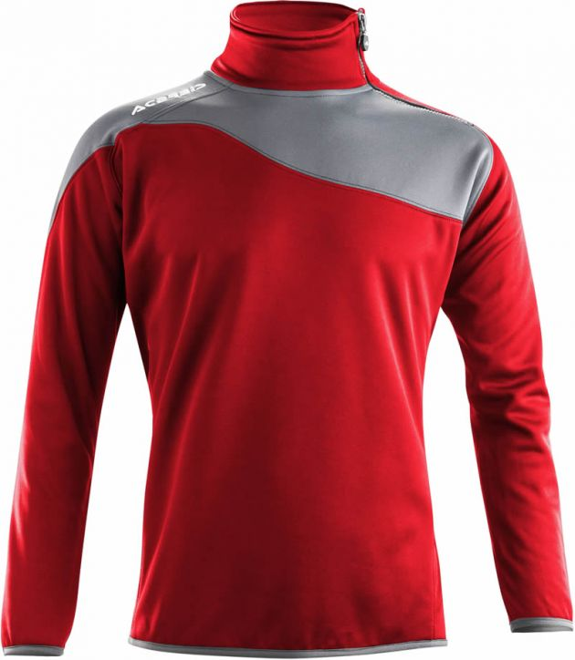 SWEATSHIRT ASTRO 1/2 ZIP RED
