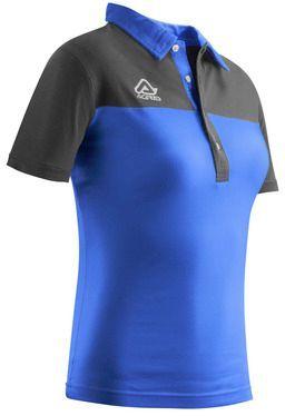 POLO S/SL WOMAN BELATRIX blue 3