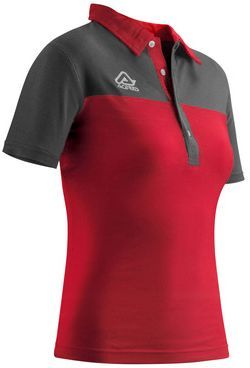 POLO S/SL WOMAN BELATRIX RED