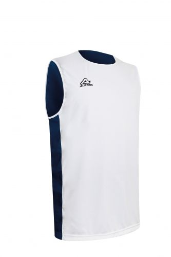 Larry Double Singlet White/ Blue