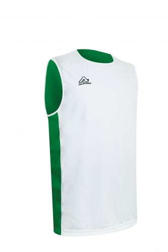 Larry Double Singlet White/ Green