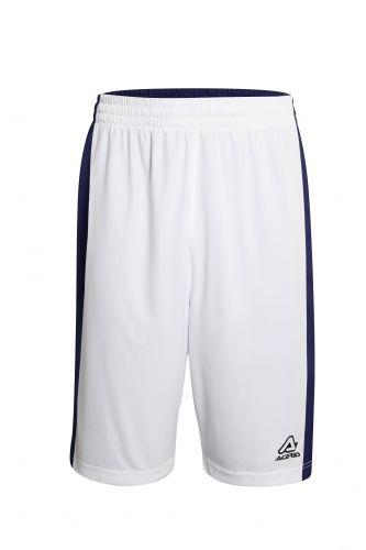 Larry Double Short White/ Blue