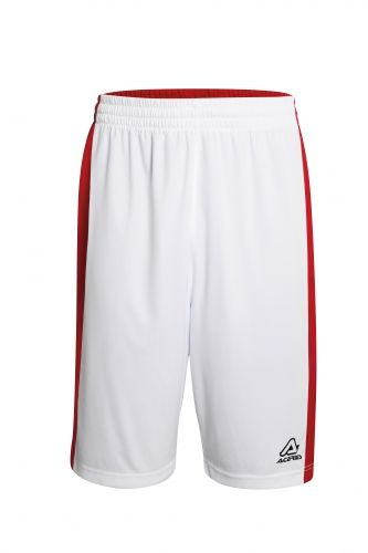 Larry Double Short White/ Red