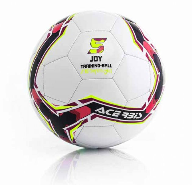 Joy Training Ball Super Light (290 Gram) Black/Red/Fluo Yellow 5 pack