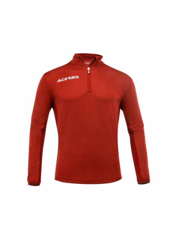 Belatrix 1/2 zip Sweatshirt Red