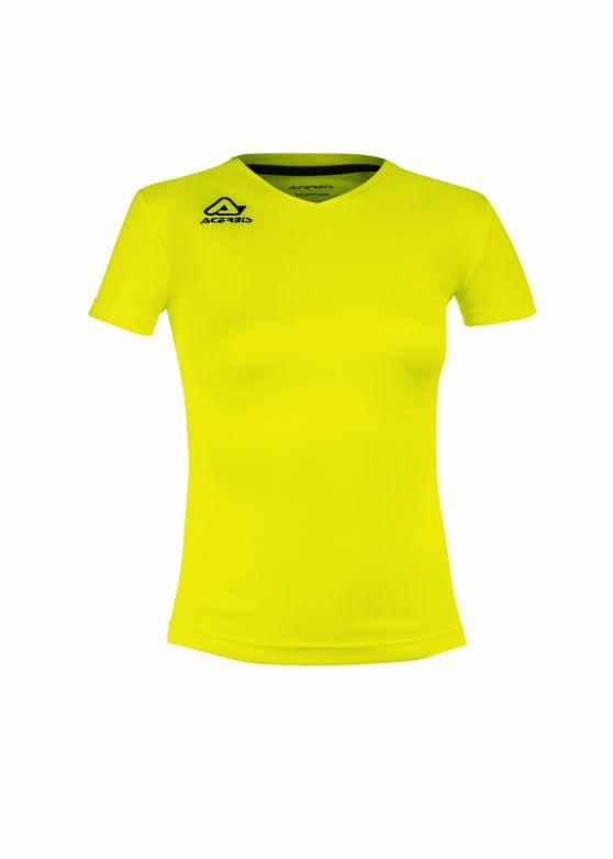 Devi Woman Training T-shirt Fluo Yellow
