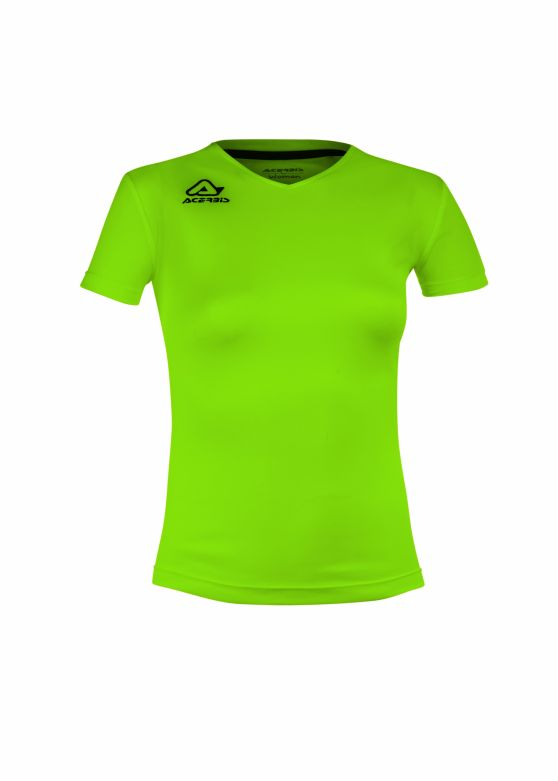 Devi Woman Training T-shirt Fluo Green