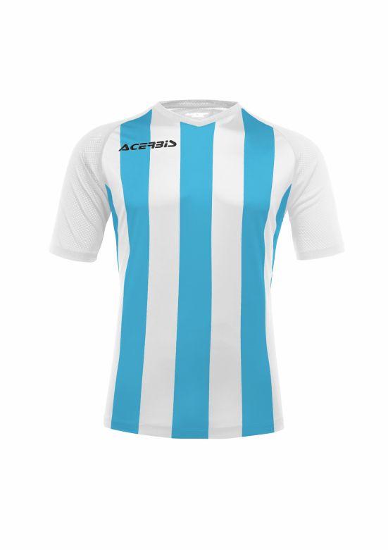 Johan Jersey Short Sleeve White/Light Blue