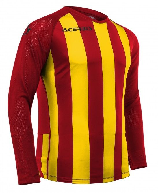 Johan Jersey Long Sleeve Red/Yellow