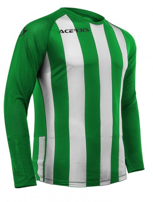 Johan Jersey Long Sleeve Green/white