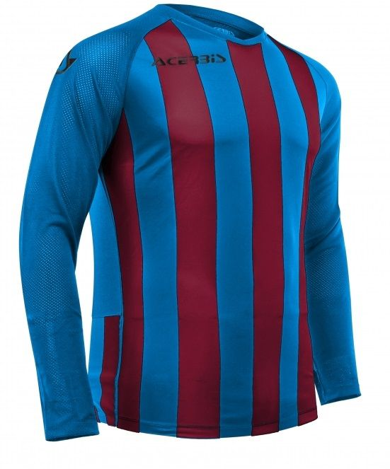 Johan Jersey Long Sleeve Royal Blue/Bordeaux