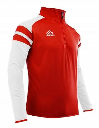 Kemari 1/2 Zip RED/WHITE