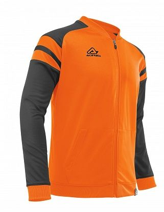 Kemari Tracksuit Jacket ORANGE/BLACK