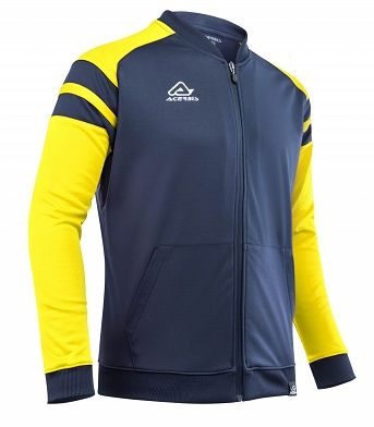 Kemari Tracksuit Jacket BLUE/YELLOW