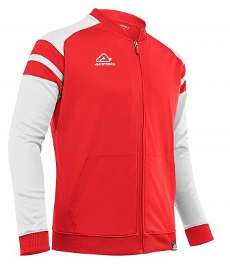 Kemari Tracksuit Jacket RED/WHITE