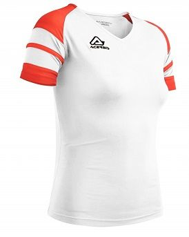 Kemari Woman Jersey S/SL WHITE/RED