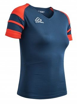 Kemari Woman Jersey S/SL BLUE/RED