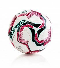 STORM FUTSAL BALL U13 BLACK/BURGUNDY/FLUO  T.3