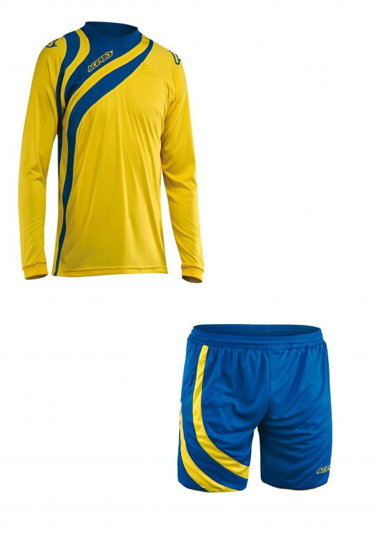 ALKMAN SET LONG SLEEVE - BLUE3/YELLOW