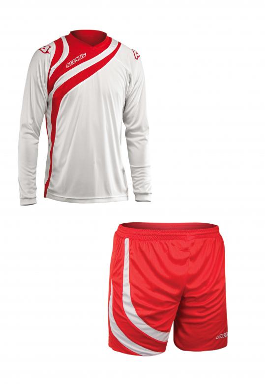 ALKMAN SET LONG SLEEVE - WHITE/RED