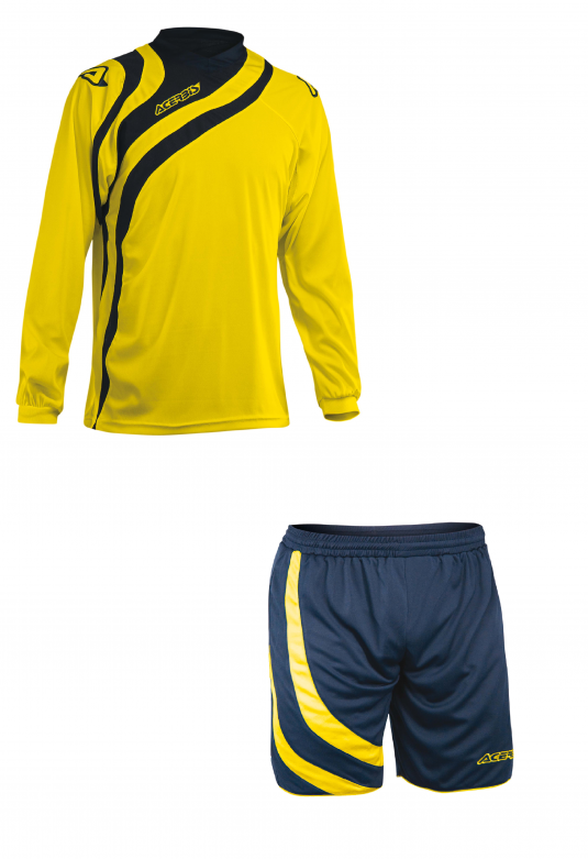 ALKMAN SET LONG SLEEVE - YELLOW/BLUE