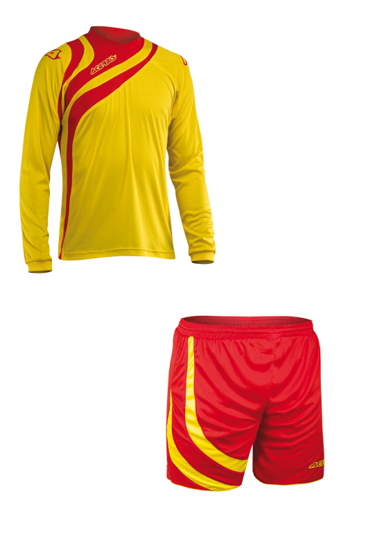 ALKMAN SET LONG SLEEVE - YELLOW/RED
