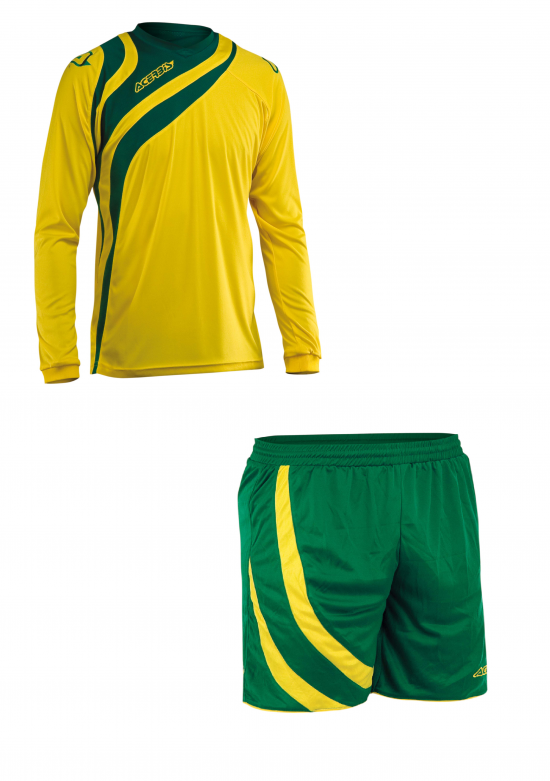 ALKMAN SET LONG SLEEVE - YELLOW/GREEN