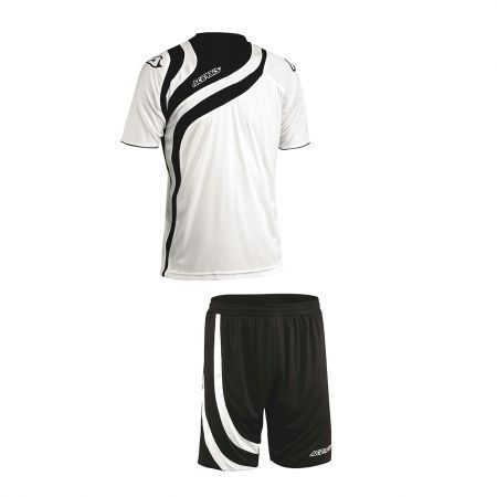 ALKMAN SET SHORT SLEEVE - WHITE/BLACK