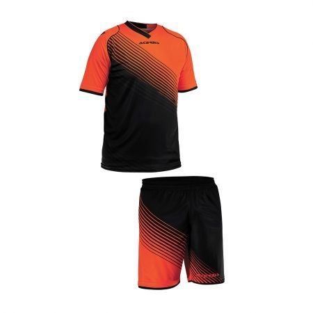 SET ENGLAND 1966 SHORT SLEEVE - ORANGE/BLACK