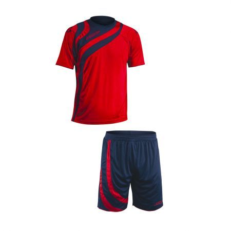 ALKMAN SET SHORT SLEEVE - RED2/BLUE