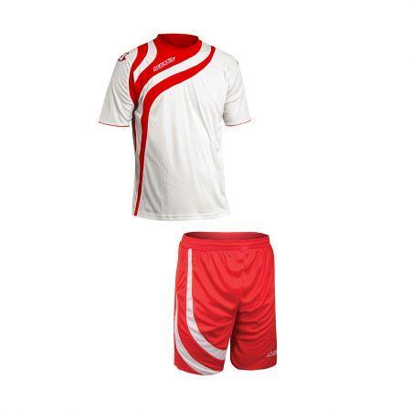 ALKMAN SET SHORT SLEEVE - WHITE/RED