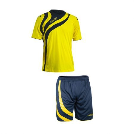ALKMAN SET SHORT SLEEVE - YELLOW/BLUE