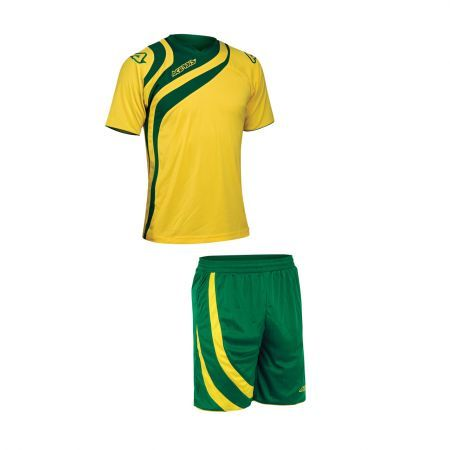 ALKMAN SET SHORT SLEEVE - YELLOW/GREEN